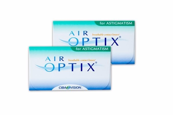 50dd093065094 Lentes De Contato Air Optix For Astigmatism - 2 Caixas - R  394