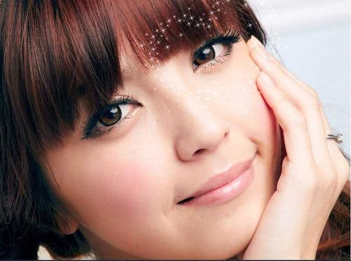 lentes de contato - circle lens - natural - dolly brown