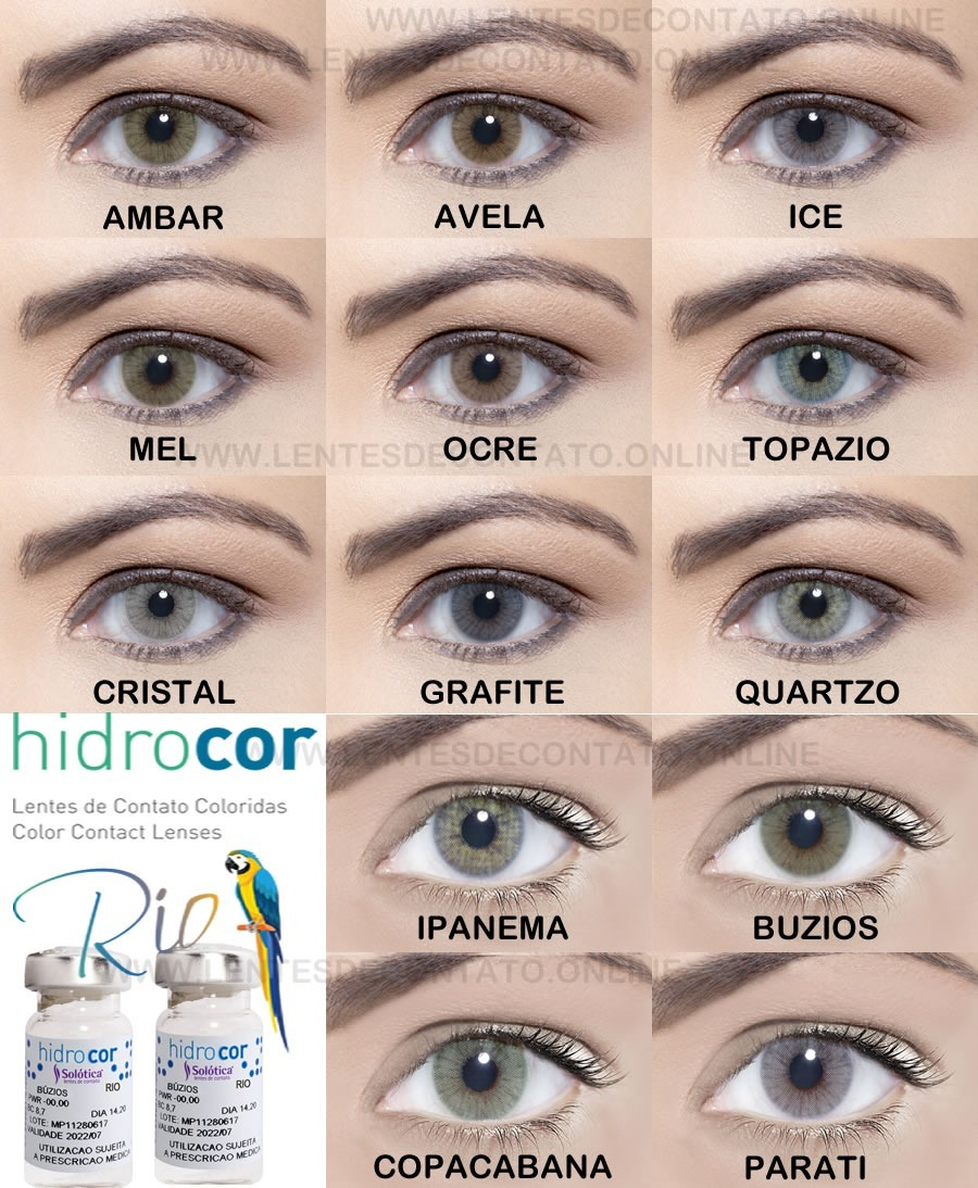 lentes de contato colorida anual solótica hidrocor sem borda. Carregando  zoom. 9df6c23eb5