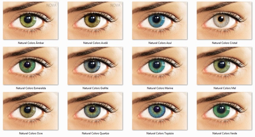 lentes de contato colorida natural colors anual + estojo. Carregando zoom. fbc21e8fcd
