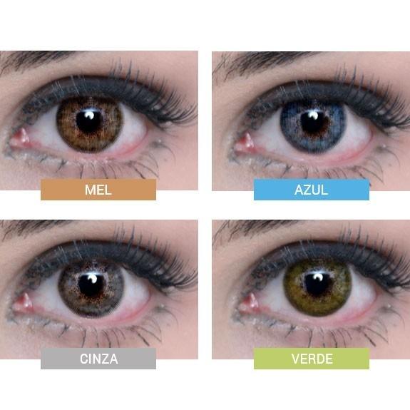 Lentes De Contato Colorida Natural Vision Ellegant Anual - R  120,00 ... f4e630407a