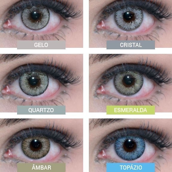 1c5821da075c5 Lentes De Contato Colorida Natural Vision Glamour - Mensal - R  67 ...