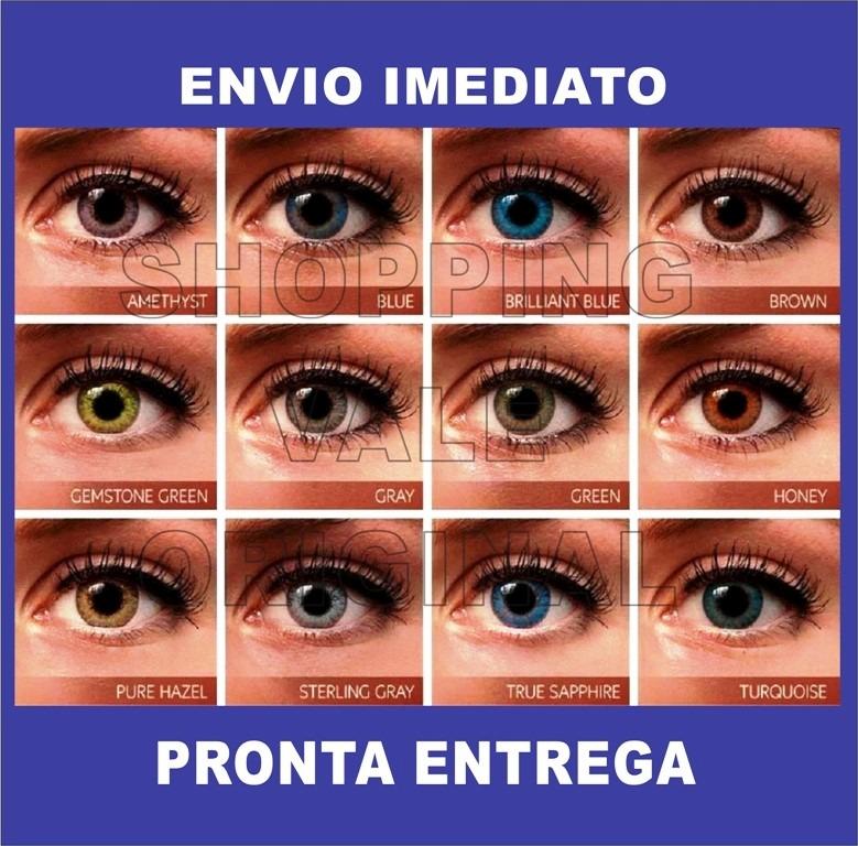 Lentes De Contato Coloridas 2 Pares + 2 Estojos Frete Gratis - R  148,90 em  Mercado Livre f7e4011b06