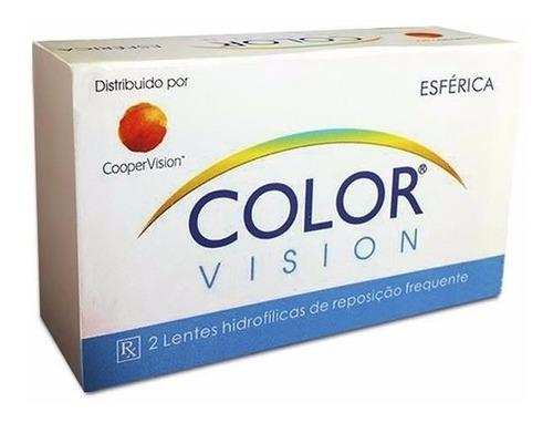 lentes de contato coloridas color mel, cinza, verde, azul e+