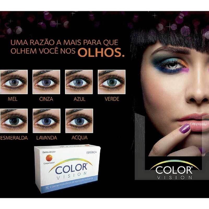 lentes de contato coloridas color vision + estojo brinde. Carregando zoom. 66e53a85bc