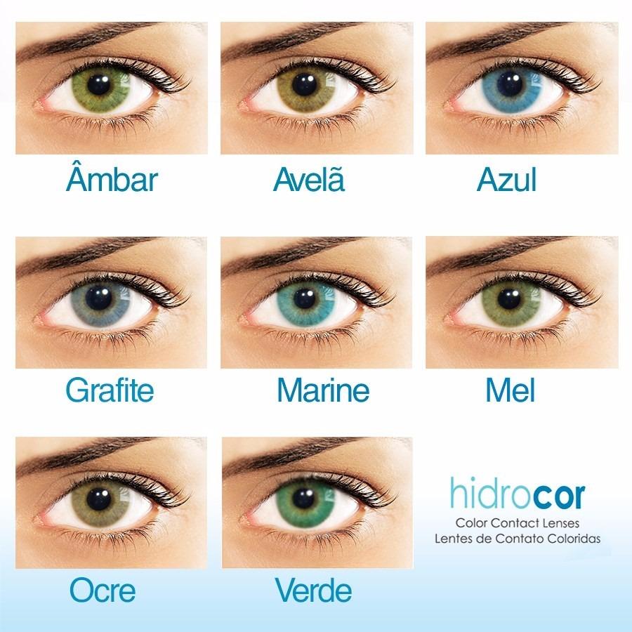 Lentes De Contato Coloridas Hidrocor - Com Ou Sem Grau - R  149,90 ... 530969a7f5