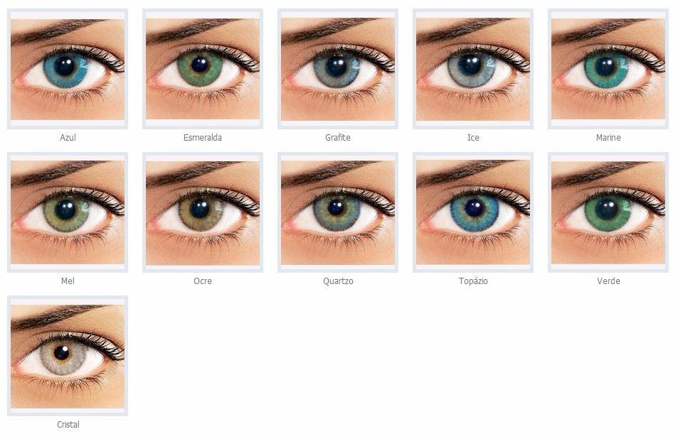 Lentes De Contato Coloridas Natural Colors - Com Ou Sem Grau - R ... b1e2f4ab42