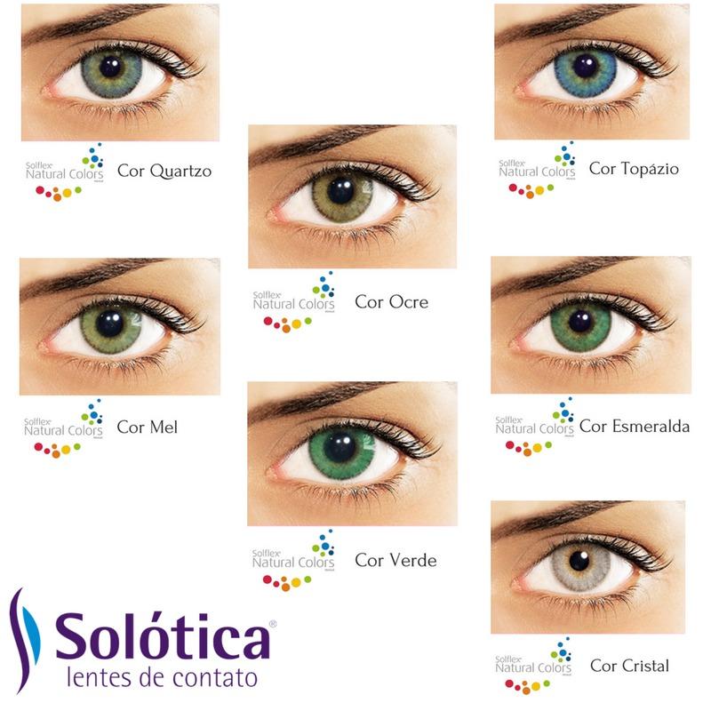 bbdd9757d573b lentes de contato coloridas solflex promoção frete grátis! Carregando zoom.