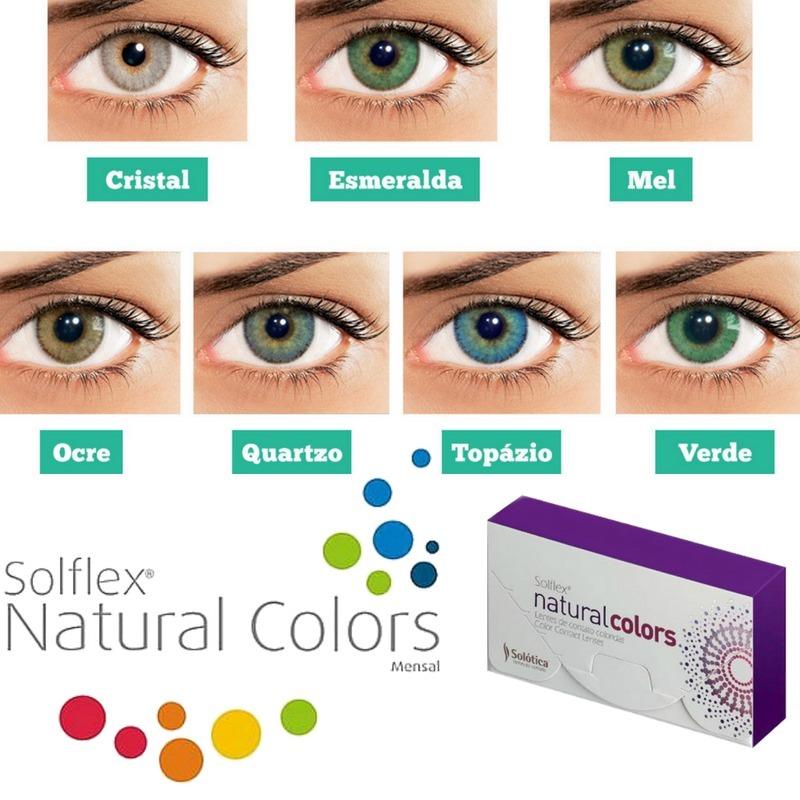 765abc067b3af lentes de contato coloridas solótica solflex c  frete grátis. Carregando  zoom.