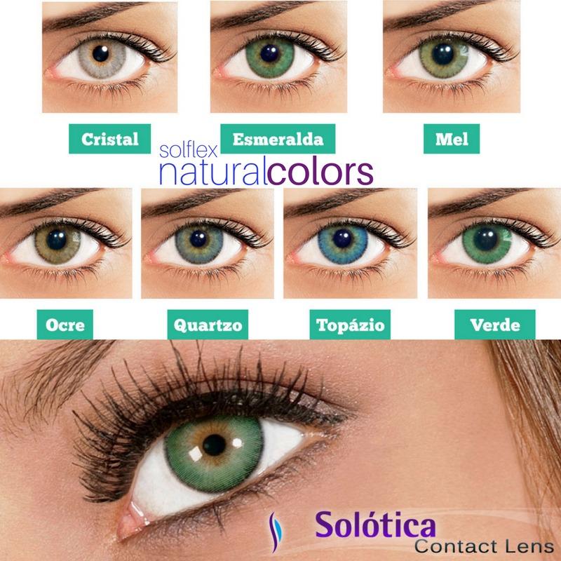 lentes de contato coloridas solótica solflex c  frete grátis. Carregando  zoom. 006fcf67b1