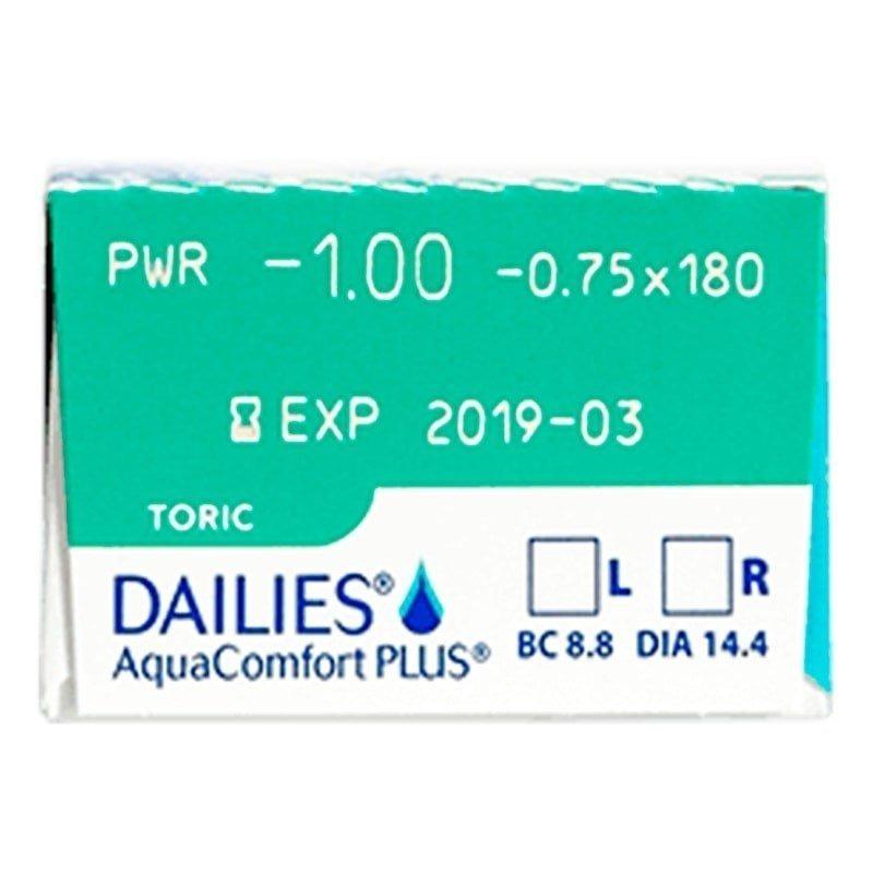 lentes de contato dailies aquacomfort plus toric astigmatism. Carregando  zoom. 30639d0e2a