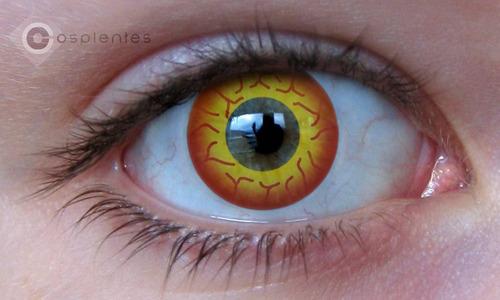 lentes de contato - darth maul - cosplay - fantasia - evento