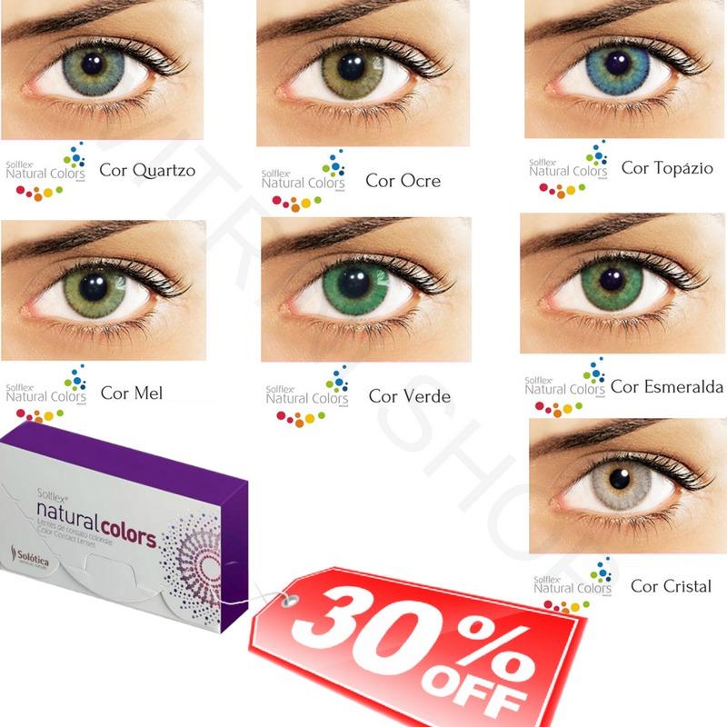 b0a66c92cc5b9 lentes de contato gelatinosa coloridas solflex promoção. Carregando zoom.