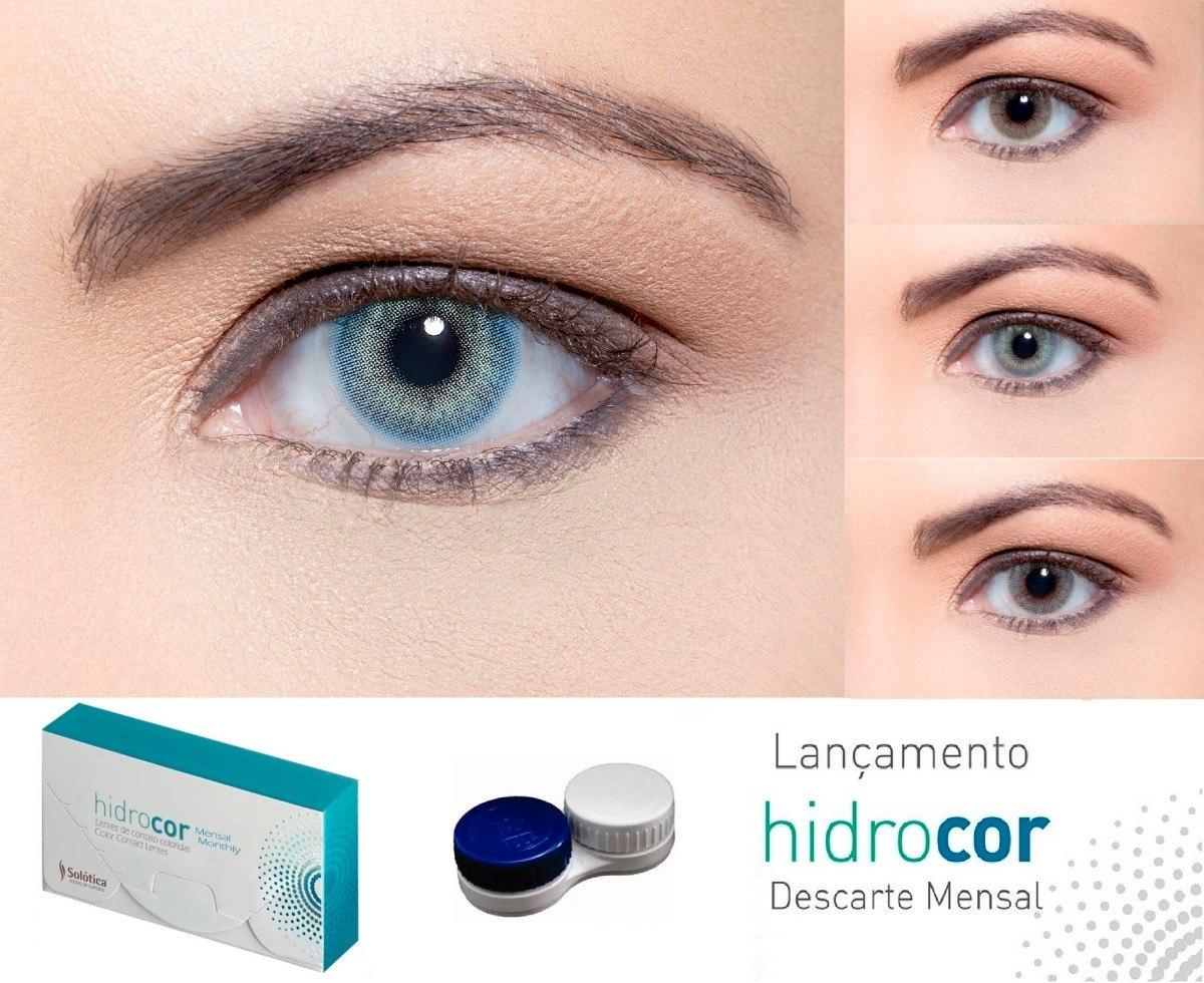 lentes de contato hidrocor mensal   sem contorno + mochila. Carregando zoom. 70d2b2850b