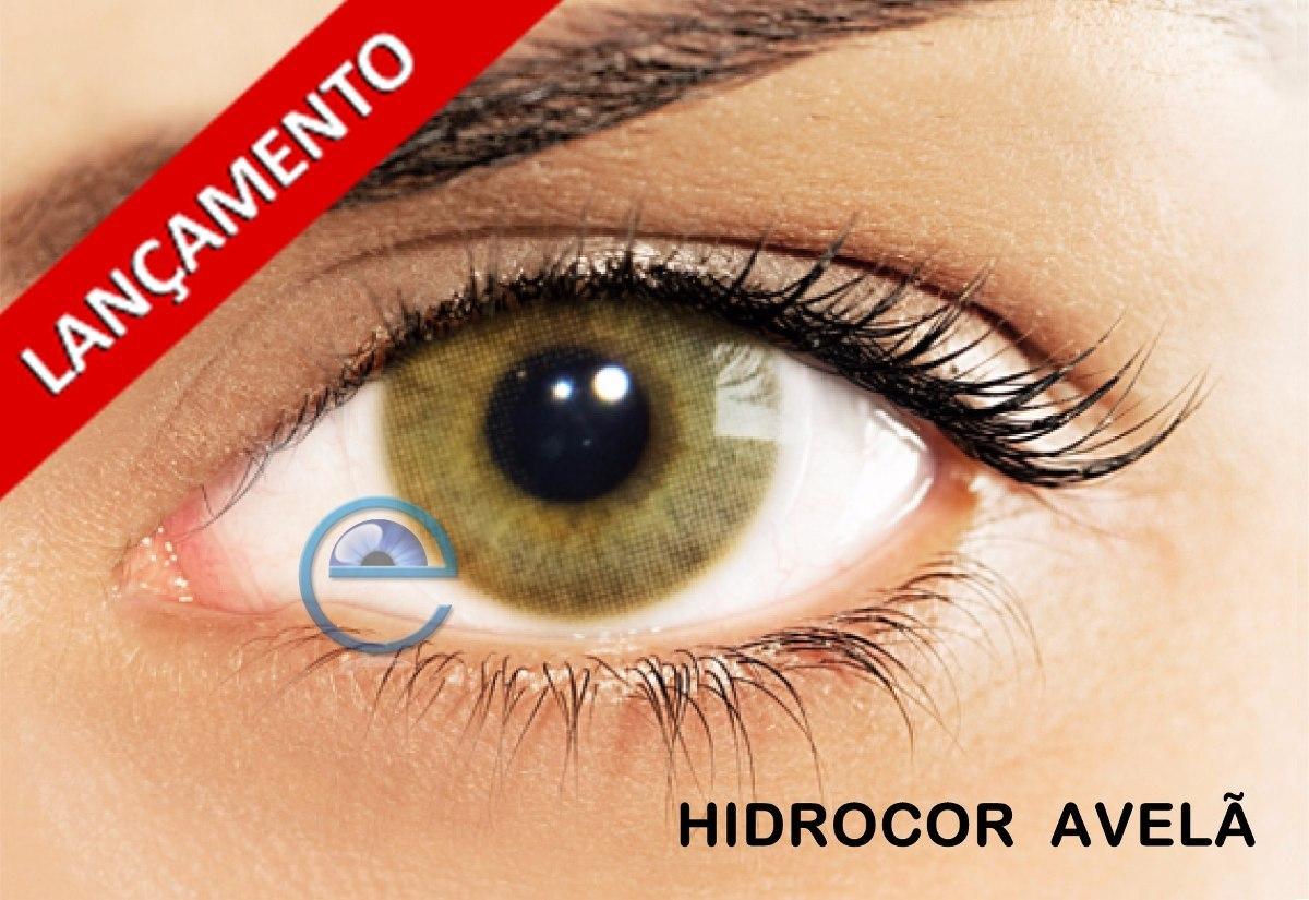 Lentes De Contato Hidrocor Solotica Anual - Avelã - Sem Grau - R ... 5f867d71bf