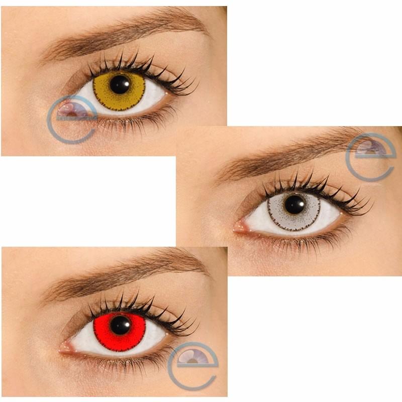 lentes de contato hype, branca, vermelha, amarela - sem grau. Carregando  zoom. baf8eab218