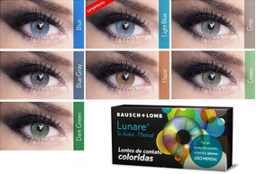 d6233b6e7 Lentes Lunare Sem Grau Coloridas - Lentes de Contato e Acessórios no  Mercado Livre Brasil