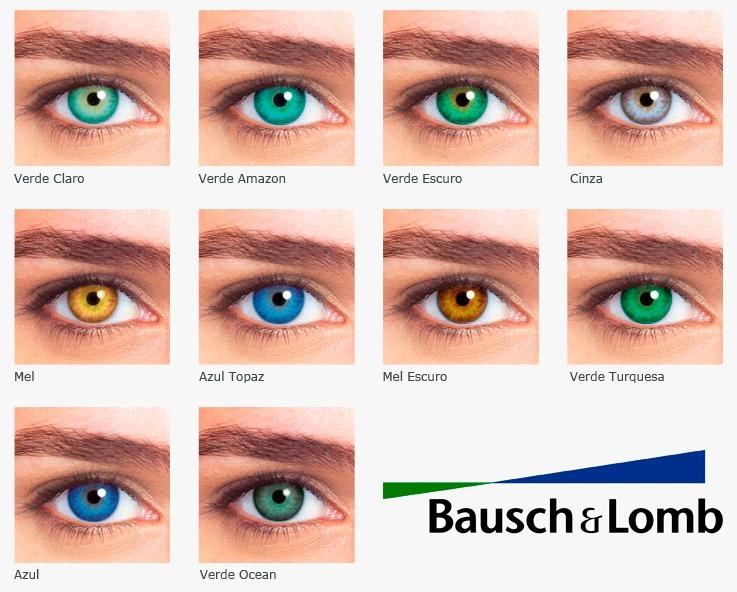 d2bcc66faece0 Lentes De Contato Natural Look Anual Bausch   Lomb + Estojo - R  179 ...