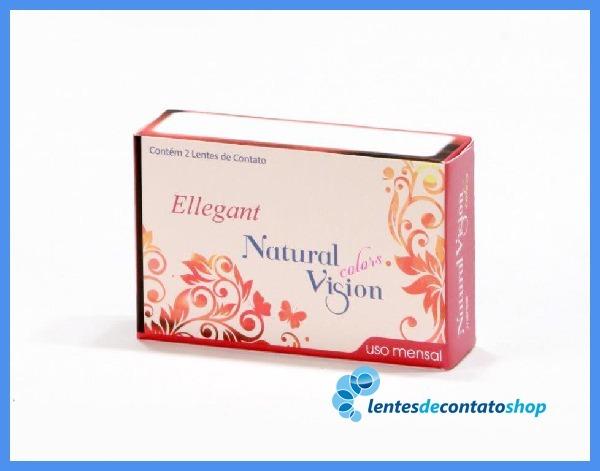 38e3f146f0155 Lentes De Contato Natural Vision Color Mel Mensal Ellegant - R  99 ...