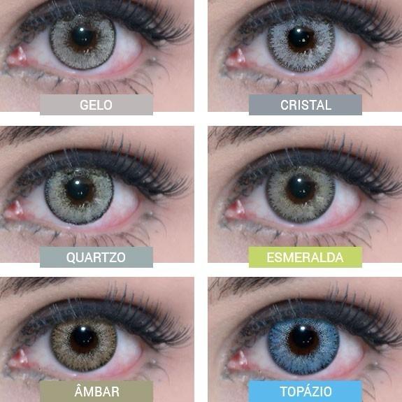 16e90869534b2 Lentes De Contato Natural Vision Glamour - Ambar - R  67