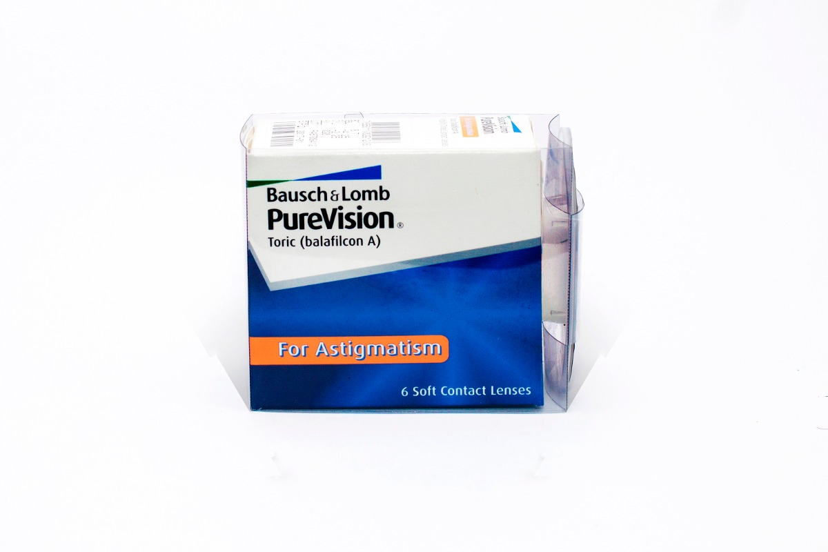 aaed8d6a18 Lentes De Contato Purevision Toric Para Astigmatismo - R$ 164,00 em ...