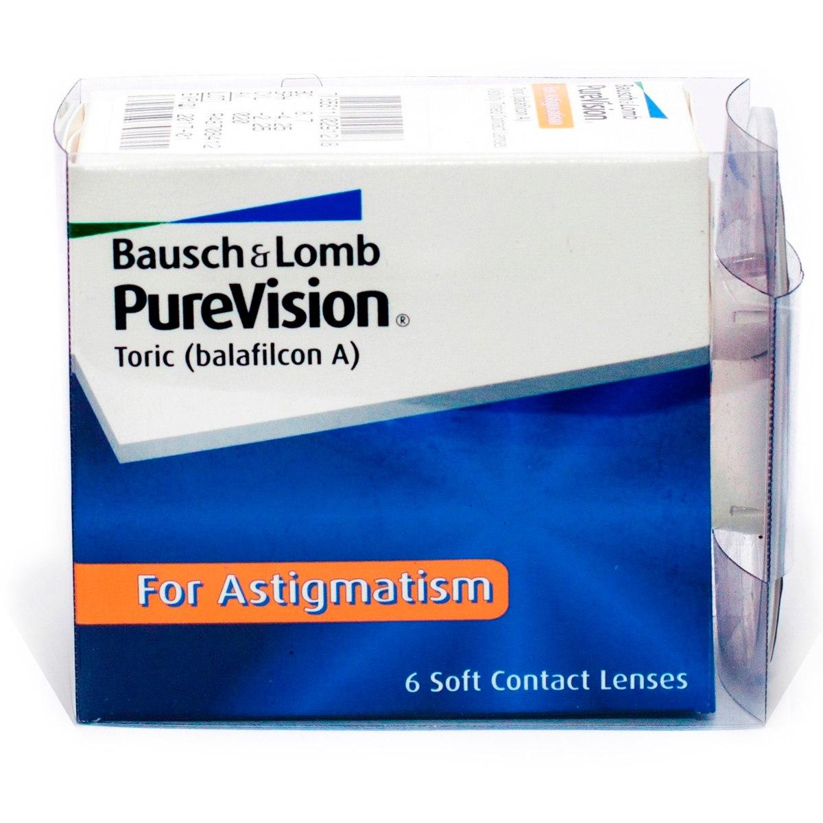 5b0067631ca0c lentes de contato purevision toric para astigmatismo. Carregando zoom.