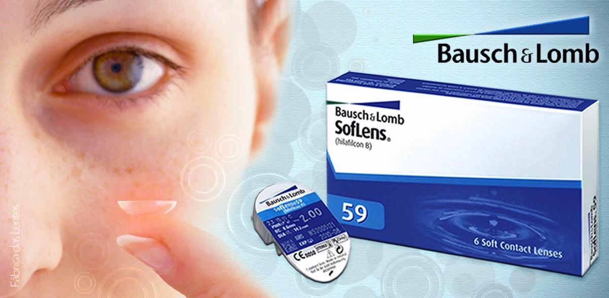 lentes de contato soflens 59 - bausch   lomb - frete grátis! Carregando  zoom. 5e00a2faa2