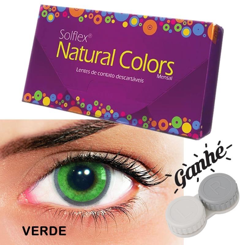 561158f2597bd lentes de contato solflex natural colors mensal - caixa roxa. Carregando  zoom.