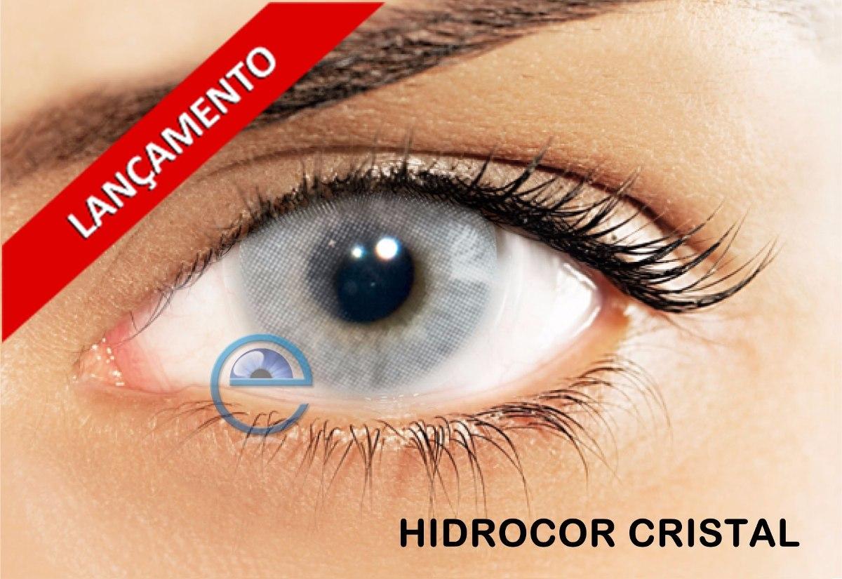 Lentes De Contato Solotica Hidrocor Cristal - R  159,99 em Mercado Livre 441088f892
