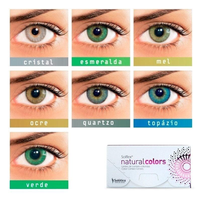0af8453a2696c lentes de contato solotica solflex natural colors c  grau. Carregando zoom.