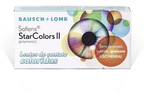lentes de contato star colors 2 - bausch lomb - coloridas