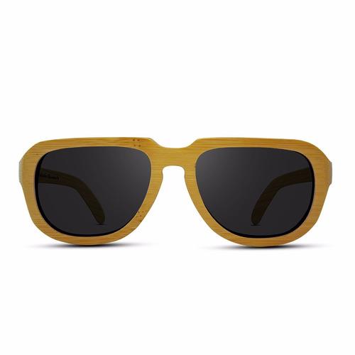 lentes de madera / marca ozader - kudos black