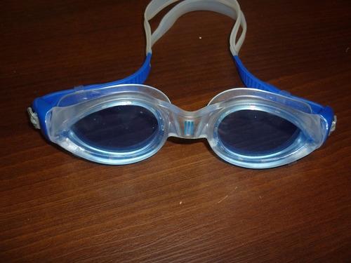 lentes de natacion adidas aquaz adv azul entrenamiento