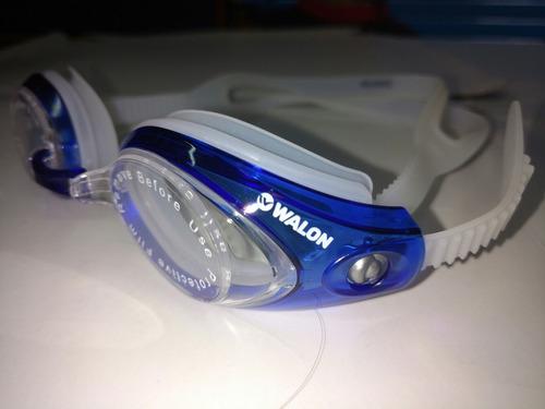 lentes de natacion walon antiempañantes protección uv