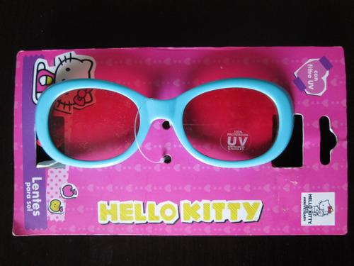lentes de niña hello kitty con 100% proteccion uv