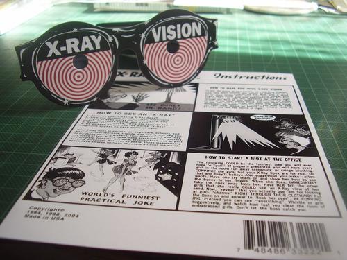 lentes de rayos equis (juguete)