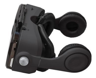 lentes de realidad virtual 3d con audífonos control 2030