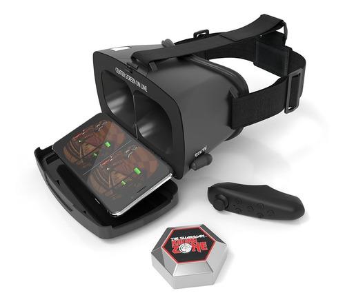 lentes de realidad virtual tzumi dream vision con audífonos