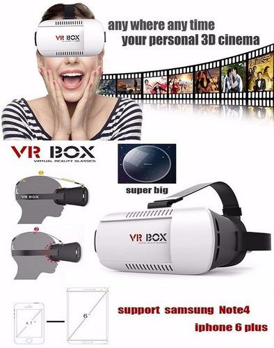lentes de realidad virtual vr  2g + control bluetooth