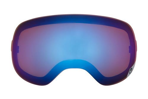 lentes de repuesto dragon x2 duales para nieve, azul acero