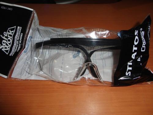 lentes de seguridad marca stratos patas ajustables
