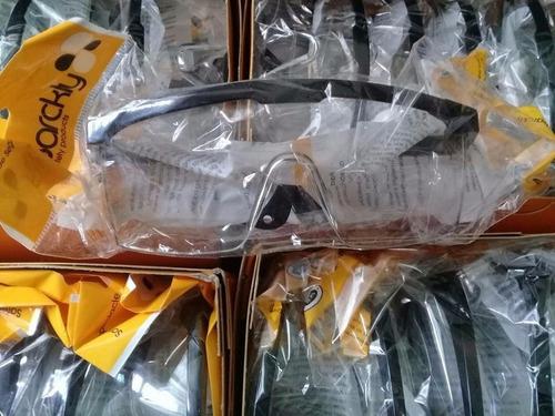lentes de seguridad - obrero - claros- oscuros x 2