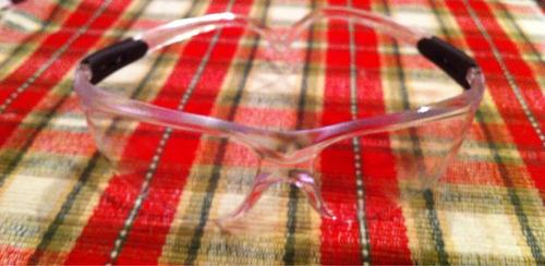 lentes de seguridad tipo ingeniero negros y claros