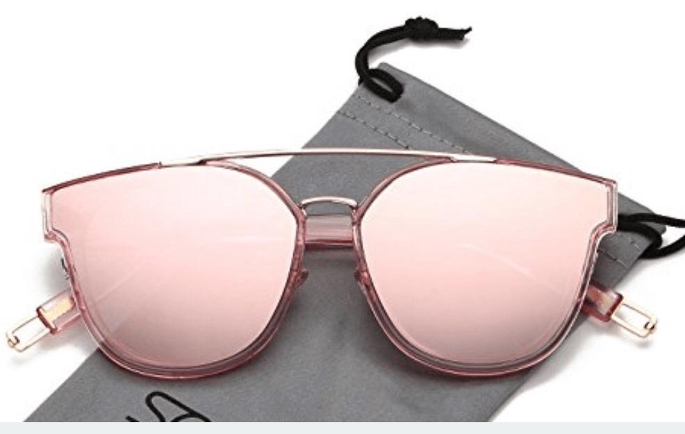 6d9cc7ff42 Lentes De Sol Acrílico Espejados Rosa - $ 600,00 en Mercado Libre