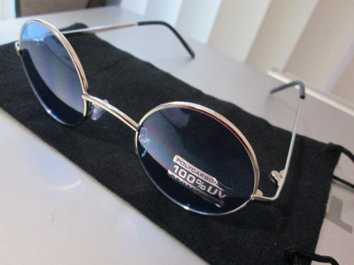 lentes de sol armazon lennon azul con envio gratis  y msi
