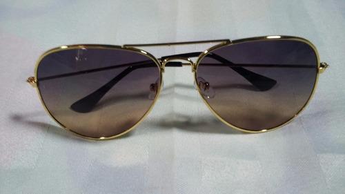 lentes de sol aviador bicolor