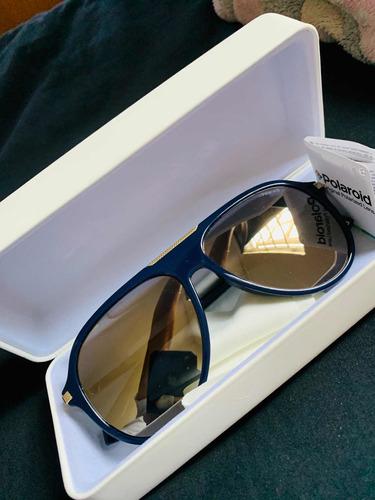 lentes de sol azul polaroid