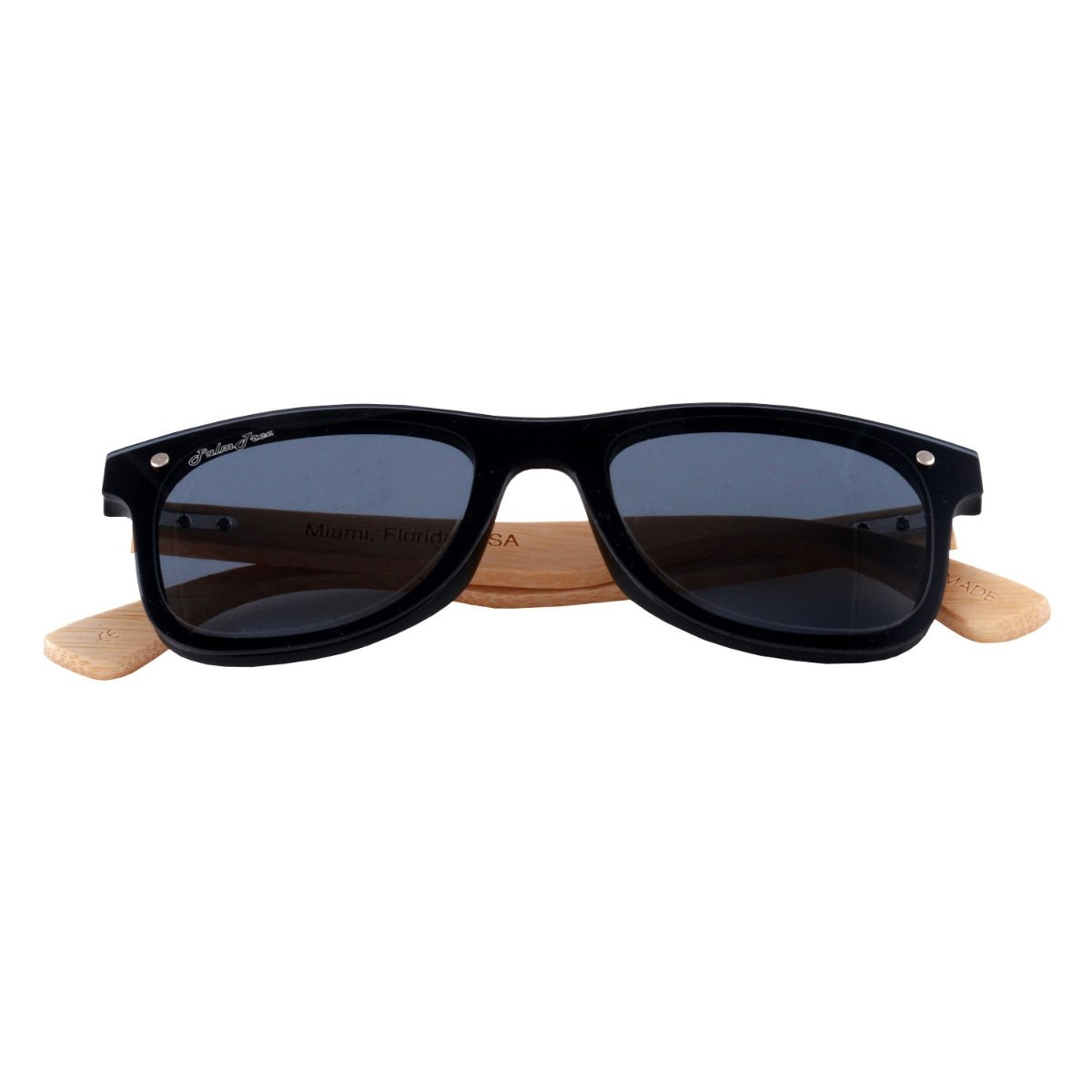 c07d5f0326 lentes de sol bambu madera liberty palmtree negro ecologico. Cargando zoom.