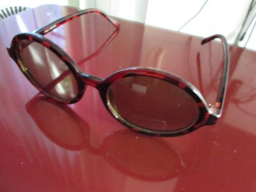 lentes de sol cafes redondos retros con envio gratis y msi