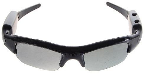 lentes de sol camara espias foto graba audio video cable avi